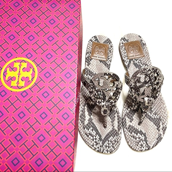 Tory Burch Shoes - {Tory Burch} EXTRA RARE Miller Sandals - Roccia